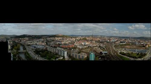 Brno from Holandska (Brno, Czech Republic) - North direction