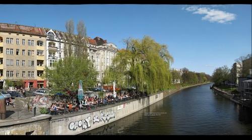 Landwehrkanal Berlin Paul Lincke Ufer