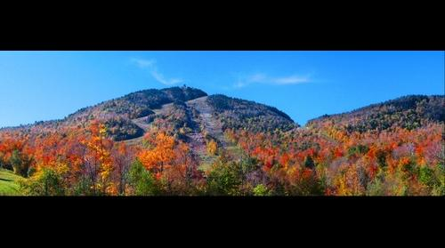 Mountains in color