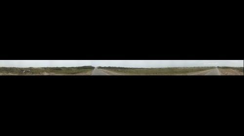 Fietspad door de duinen
