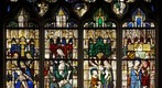 Stained Glass Window XV th century in Vernon France