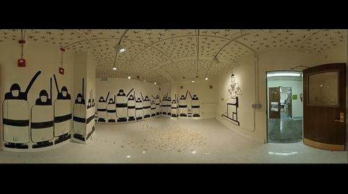 Bassem Yousri, Installation at Kansas State University - April 2011 (1/3 resolution)