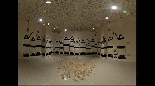 Bassem Yousri, Installation at Kansas State University - April 2011 (1/2 resolution) Lower view