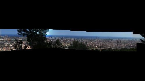 Barcellona panorama