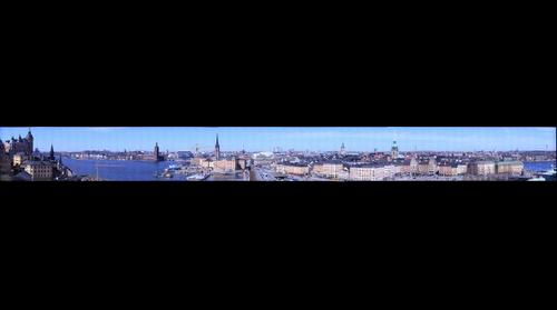 Stockholm from the SKL-building