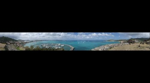 View from Fort Marigot Sint Maarten / St Martin