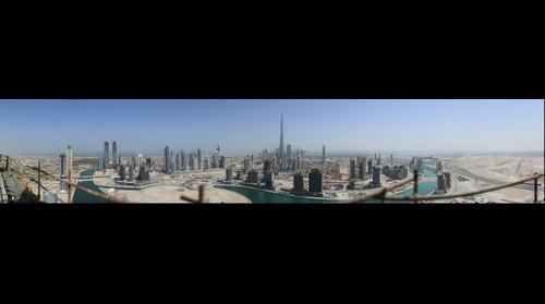 Dubai 45 Gigapixel re-render small version