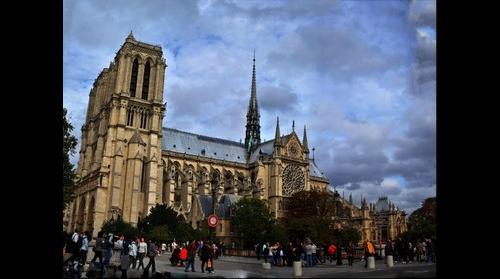 Cathedrale Notre - Dame de Paris