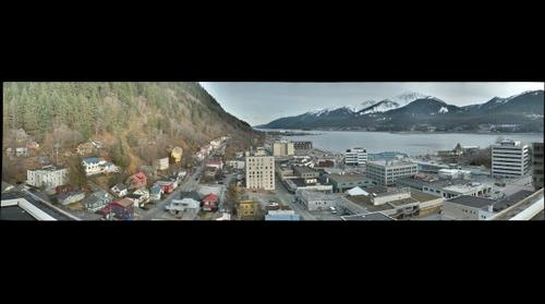 Downtown Juneau - Facing South