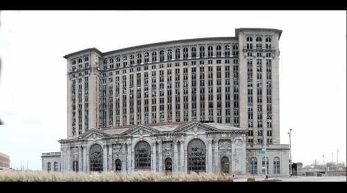 Michigan Central Station 2011