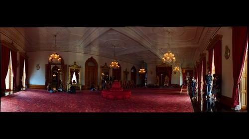 'Iolani Palace Interiors - Throne Room