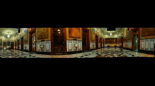 Salon de Historia Palacio de Gobierno de Yucatan