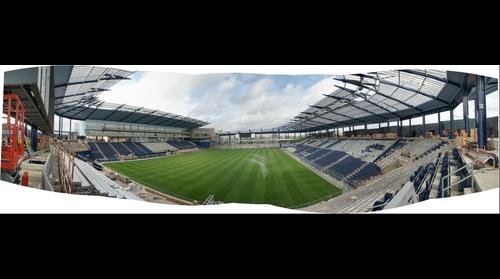 LIVESTRONG Sporting Park pano 4/22/11