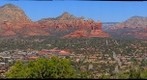 Sedona, AZ - The View from the Patio of Sky Ranch Lodge