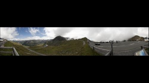 View from GrobGlockner Mountain Rd