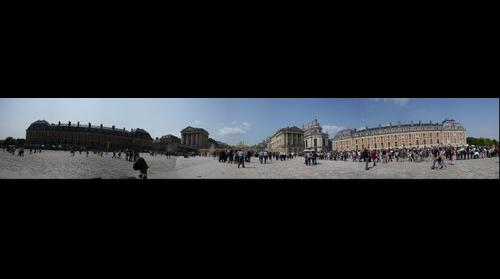 Palace of Versailles Front Courtyard