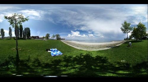 Beach in Altnau