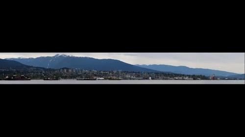 2009-05-02 - North Van From Stanley Park Pano