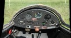 Schweizer 1-23H-15 Glider Cockpit, Silvercreek Glider Club, New Douglas, Illinois (near St. Louis)