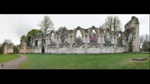 The Ruins of St. Mary's Abbey