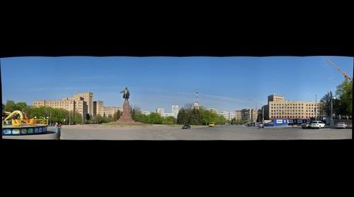 Charkov - GazProm - Platz der Leibstandarte