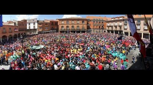 Peticion del Toro Enmaromado en Benavente - Veguilla 2011