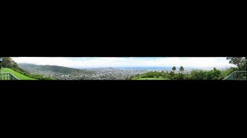 Honolulu from Puu Ualakaa Park