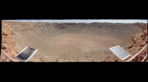 Meteor Crater Arizona USA