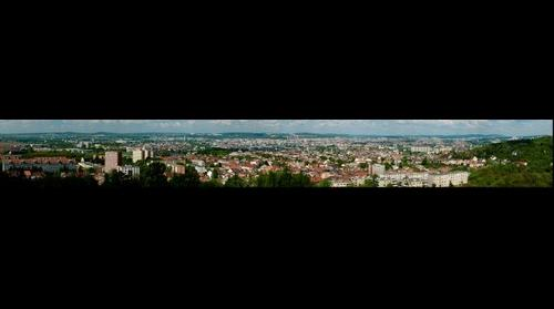 Outlook from Bila hora Brno-Zidenice (Brno, Czech Republic) West direction