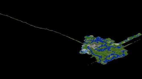 [5/4/11] Craftograd Minecraft Server South East View