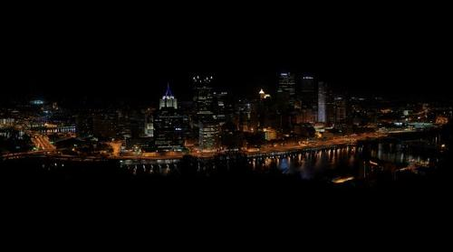 Pittsburgh at night (May 5, 2011)