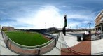 Durham Bulls Athletic Park, Restaurant Balcony