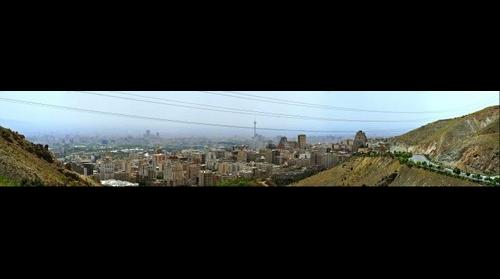 Tehran form TOCHAL view