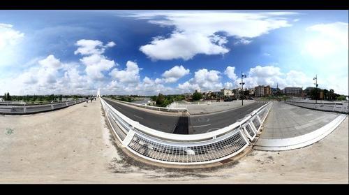 Puente Lusitania uno de mayo