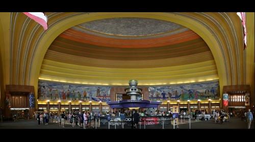Cincinnati Union Terminal lobby