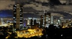 Panormica nocturna de Bogot
