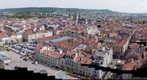 Vue aerienne de Nancy centre - http://www.jacquier-photo.fr