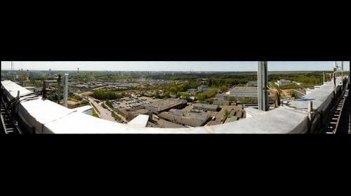 Вид на Северную промзону и микрорайоны Зеленограда (1 из 2)