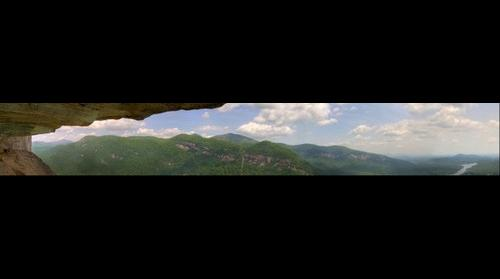 Chimney Rock Panorama