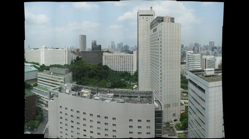 Shinagawa Prince Hotel - 20th floor view