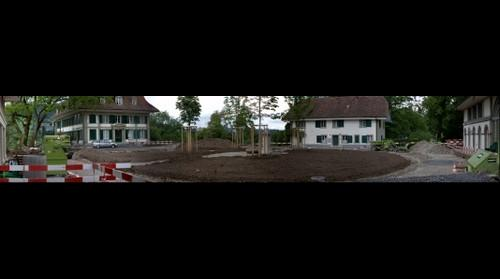 Brunnaderngut - new trees just planted