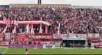 La hinchada de Los Andes frente a Temperley