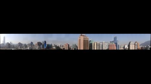 Vista de avenida Providencia. Santiago. Chile