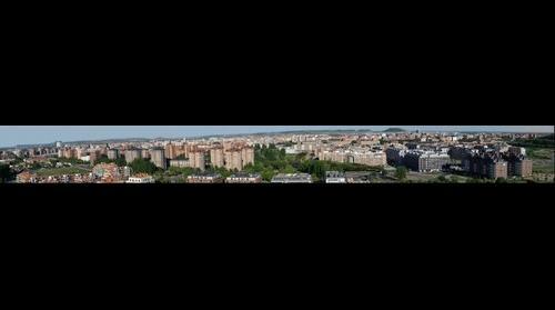 Valladolid desde el cerro de las Contiendas