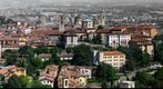 Bergamo alta (medieval citadel of Bergamo - Italy )