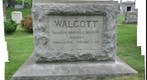 The grave of Charles Doolittle Walcott