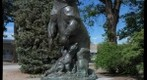 Denver City Park Bear Statue
