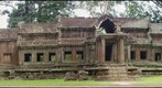 Ruined temple at Angkor Wat, Cambodia