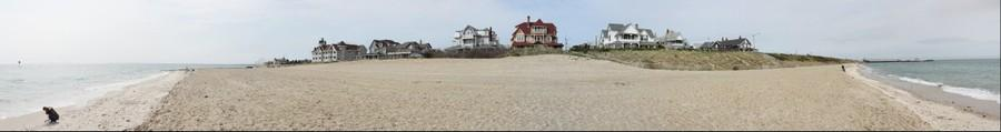 Beach and Painted Ladies of Oak Bluffs, Martha's Vineyard
