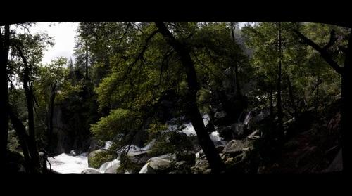 Waterfall side on
